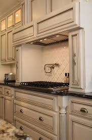 painted cabinets in kitchenBest 25 White glazed cabinets ideas on Pinterest  Glazed kitchen