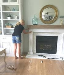 build fireplace mantels making wood molding how