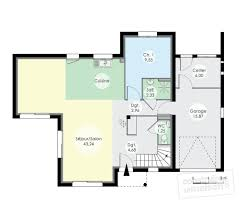 Plan Rdc   Maison   Maison Contemporaine 12 ...