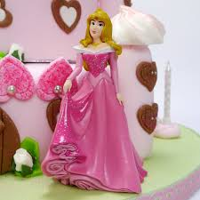 Princesses And Castle Cake Toppers