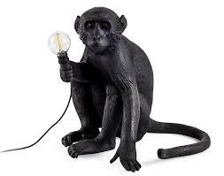 Seletti Outdoor Monkey Lamp Sitting