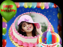 Birthday Cake Photo Frame 11 Free Download
