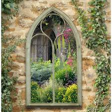 garden mirrors. Fine Garden Gothic Style Chapel Outdoor Garden Mirror  Sandy Charles Bentley In Mirrors E
