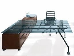 executive glass office desk. Executive Glass Office Desk