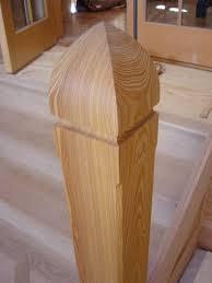 Custom Newel Post Longleaf Lumber Reclaimed Custom Heart Pine