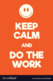 How To Make A Keep Calm Poster Keep Calm And Do The Work Poster