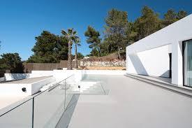 Minimalist Outdoor Design Minimalist Villa In Ibiza Showcases Surfaces That Transition