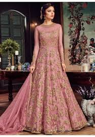 Image result for pink and green brocade gown