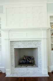 stone tile fireplace hearth