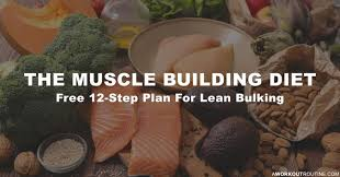 The Muscle Building Diet Free 12 Step Lean Bulking Meal Plan
