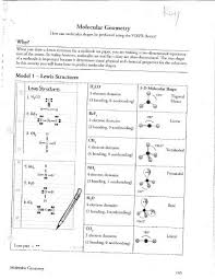molecular geometry worksheet worksheets library  17 best ideas about molecular geometry chemistry