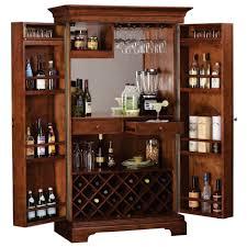 u shaped corner bar cabinet design with glass door wine