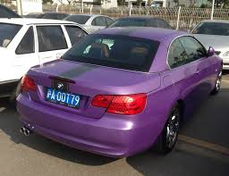 BMW 3-Series Convertible is Purple in China - CarNewsChina.com