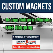 Design Your Own Truck Online For Free 12 X 18 Custom Car Magnets Magnetic Signs For Autos Trucks Vans Qty 2 Ebay