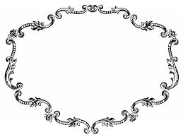 antique frame drawing. Antique Clipart Frame Antique Drawing