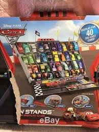 Disney Cars Fan Stand Display Case Disney Pixar Cars 100 Fan Stand Display Case Rare Great For 17