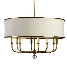 image chandelier lighting. Zoe Eight-Light Brass Chandelier , Large Image Lighting R