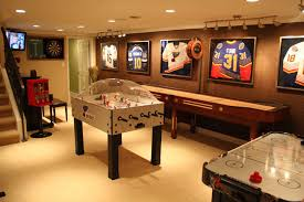 Wooden Games Room Brilliant Basement Game Room Ideas with Interior Attractive 33