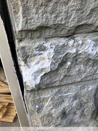 painted stone wallPainted Stone Exteriors
