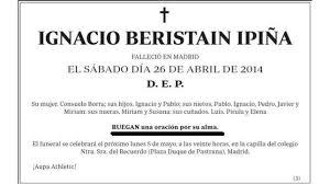 Kilisyano Spanish Death Announcements