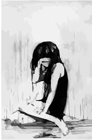 Sad Anime Girl Drawing At Paintingvalleycom Explore Collection Of