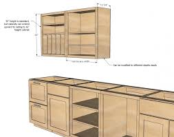 ready to assemble standard kitchen cabinet dimensions of wall cabinet
