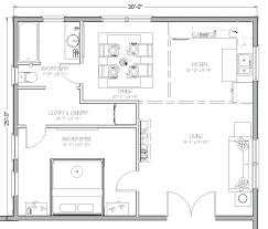 full image for blueprint view of in law addition750 square feet apartment layout 750 floor plan