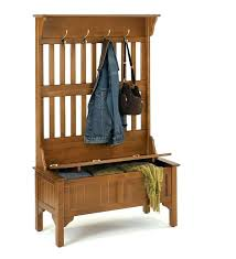 Hall Tree Coat Rack Storage Bench Custom Coat Rack With Bench Seat Louiselyndon