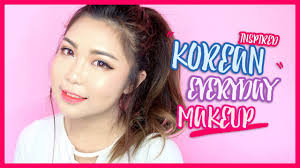 korean inspired everyday makeup ft cathy doll thechency