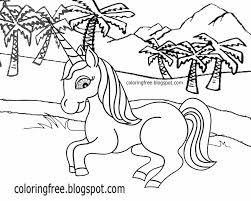 cool to draw easy prints clipart baby unicorn sketch mythical colouring book images for kids ideas