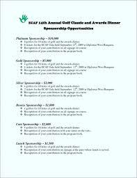Bistrun Sponsor Template Form Certificates Of Achievement Free