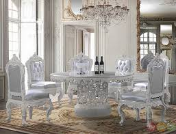 formal dining room sets for 6 web satunya. Formal Dining Set With Pedestal Base, Ornate Carvings And Bonded Leather Side Chairs - HD Room Sets For 6 Web Satunya O