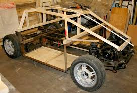 build your own car in timber alloy and steel