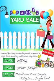 Yard Sale Flyer Template Word Yard Sale Flyer Template Word