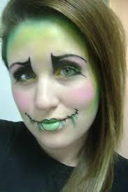 evil porcelain doll makeup