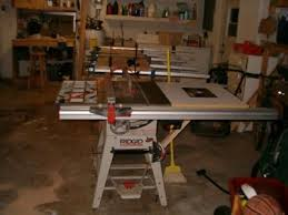 ridgid tools saw. my ridgid table saw tools