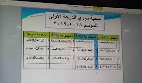دوري الأمير محمد بن سلمان للدرجة الأولى السعودي أو دوري الدرجة الأولى للمحترفين السعودي ، هي بطولة الدوري الثانية من حيث الأهمّية لكرة القدم السعودية بعد دوري المحترفين السعودي في السعودية. بالصورة قرعة دوري الدرجة الاولى للموسم 2018 2019