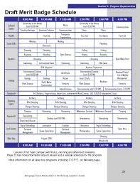 Emergency Preparedness Merit Badge Chart 2015 Leaders Guide