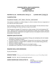 Com Trend Community Mental Health Worker Cover Letter Resume Cover