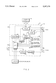 patent us5357170 lighting control system priority override patent drawing