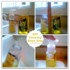 make your own foaming hand soap easy as 1 2 3