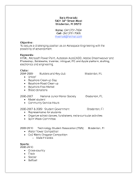 Resume For Student With No Work Experience Roddyschrock Com
