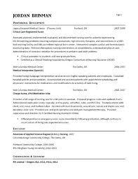 Nursing Resume Sample Resume Format For Nursing Classy Nursing