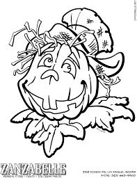 jack o lantern pumpkin page