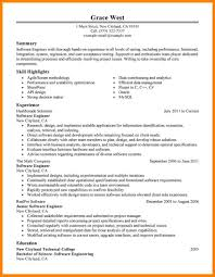 Software Engineer Resume Sample 100 software engineer resume samples write memorandum 60