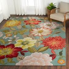 beach decor area rug aqua fl islander handmade 8x11 area rugs coastal design