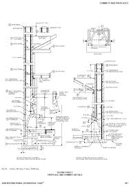 fireplaces construction wood burning fireplace construction details