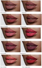 charlotte tilbury matte revolution luminous modern matte lipsticks dark skin
