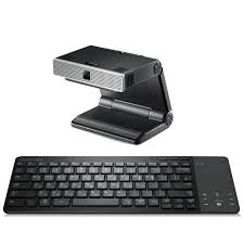samsung tv keyboard and mouse. [samsung] 3d smart tv accessory double package:bluetooth keyboard+skype web cam samsung tv keyboard and mouse