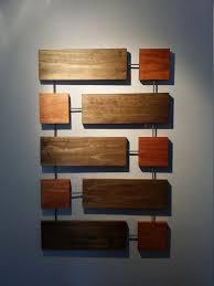 retro wood wall art
